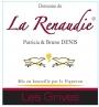 Domaine de la Renaudie - Tourraine Cuvée des Grives Rouge
